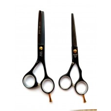 "5.5"" Cutting and thinning scissors Hi-Tech Cobalt Japan"